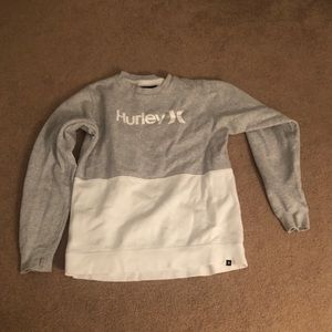Hurley crew neck women's medium